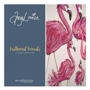 This exhibition has now finished 'Feathered Friends & Their Companions' by Amy Louise