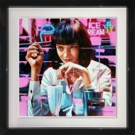 BJR0291 Mrs Mia Wallace 24x24 Framed